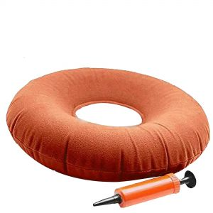 Rubber Ring Donut Cushion with Pump