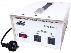 600W Voltage Converter Isolated Toroidal no noise