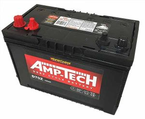 Deep Cycle Battery AMPTECH AGM 105AH 12V