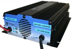 Auto Battery Charger Switchable Multi-Current 240V AC to 12V DC