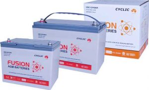 Fusion AGM Super Start Battery - Deep Cycle Battery