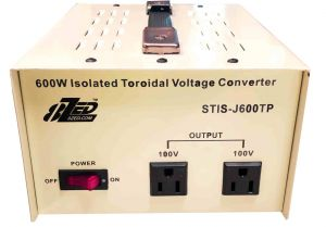 600W Japanese Voltage Converter Isolated Toroidal no noise