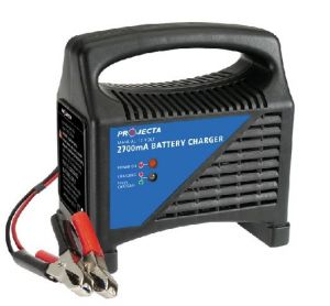 Projecta Automatic 6/12V, 2700mA, 2 Stage Battery Charger