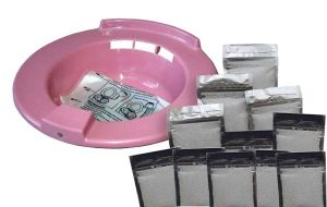 Sitz Bath Kit with 20 sachet Haemorrhoids Natural Soothing Infusion