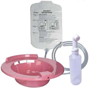 Sitz Bath Rose, Shattaf, Solution Bag