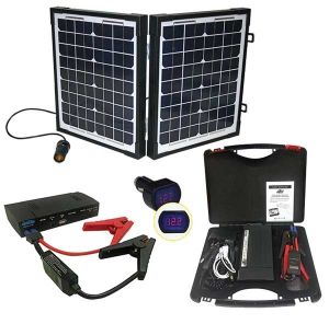 titan 489 portable energy kit 20w solar panel
