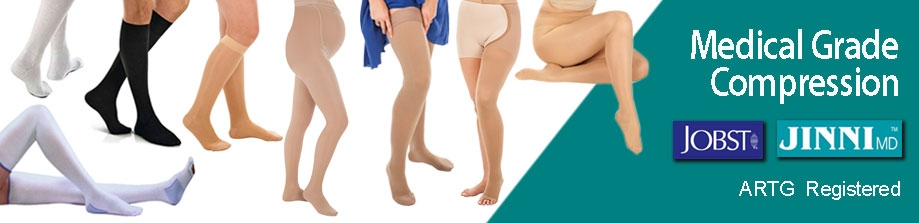 Medical Compression Stockings and Socks JINNI MD and JOBST